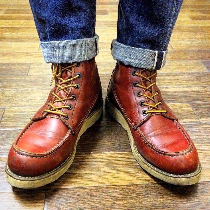 いいね!267件、コメント2件 ― Yasu Miuraさん(@spangle_jewels)のInstagramアカウント: 「今日の足元。 redwing 877 超久しぶりに履いたけどキツい👞💦 足も太るんだと分かった一足😅。 🔶🔸🔶🔸🔶🔸🔶🔸🔶🔸🔶🔸🔶 #redwing #レッドウイング #redwing877…」