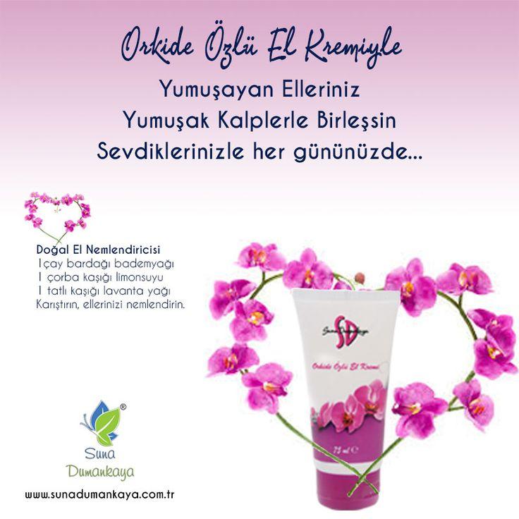 orkide özlü #el #kremiyle yumuşayan #elleriniz yumuşak kalplerle birleşsin, #sevdiklerizle her gününüzde #doğalolarakgüzelsiniz
