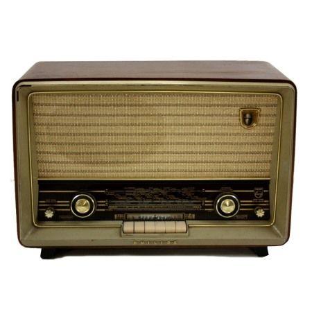 Vintage/antieke radio Philips