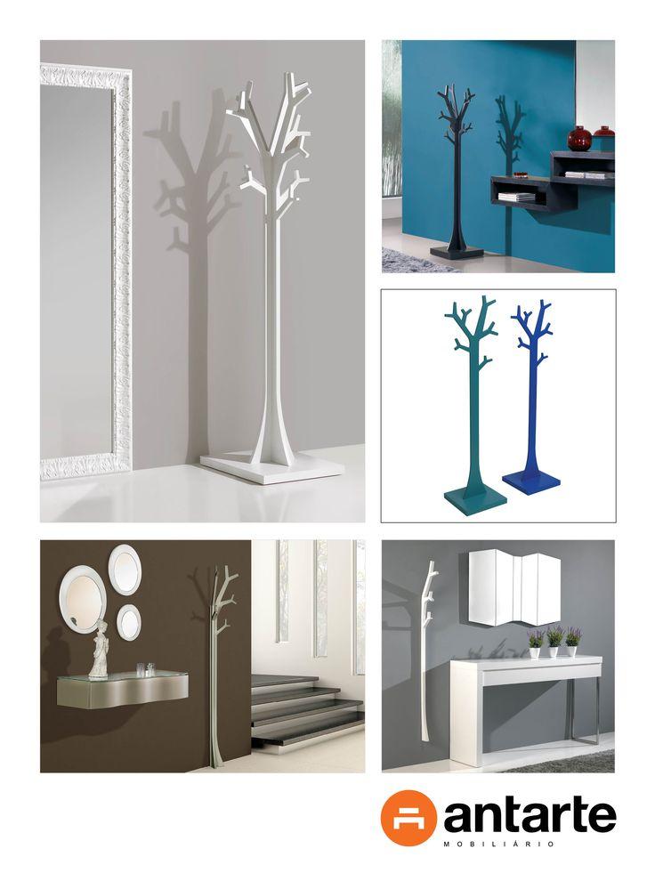 De diversas cores e tamanhos, o cabide-árvore Antarte é uma das peças mais populares da marca. Sendo ao mesmo tempo uma peça de design e um cabide, permite economizar espaço e arrumar com estilo! Já escolheu o seu?