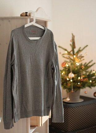 Kaufe meinen Artikel bei #Kleiderkreisel http://www.kleiderkreisel.de/herrenmode/pullis-and-sweatshirts-sonstiges/140815958-grauer-strickpulli-von-esprit-in-xl
