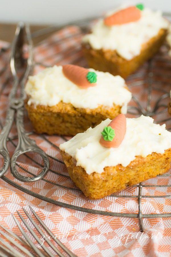 mini-Carrot-Cakes Superschnelle und superleckere Mini-Rübli-Küchlein - Zimtkeks und Apfeltarte