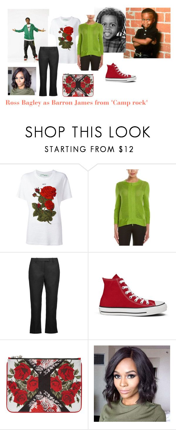 """""""Disney dream cast: Ross Bagley as Barron James from 'Camp rock'"""" by sarah-m-smith ❤ liked on Polyvore featuring Off-White, Lafayette 148 New York, 3.1 Phillip Lim, Converse and Alexander McQueen"""