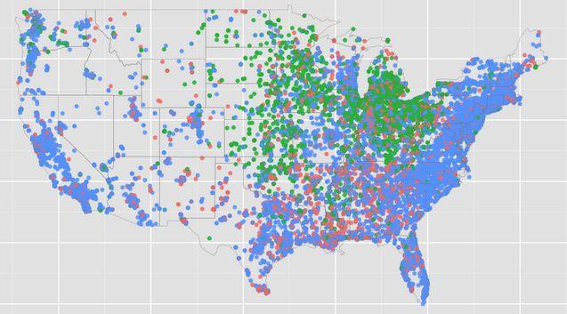 Data Viz: 'Pop' vs. 'Coke' vs. 'Soda' in the US