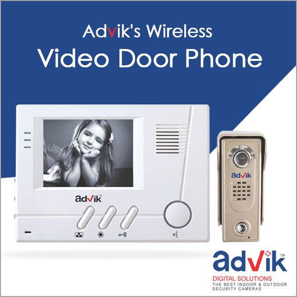 Say goodbye to tangling and tripping in wires with Advik's wireless #videodoorphones. Click here for more information: http://advik.net/products/video-door-phone/wireless-video-door-phone.html