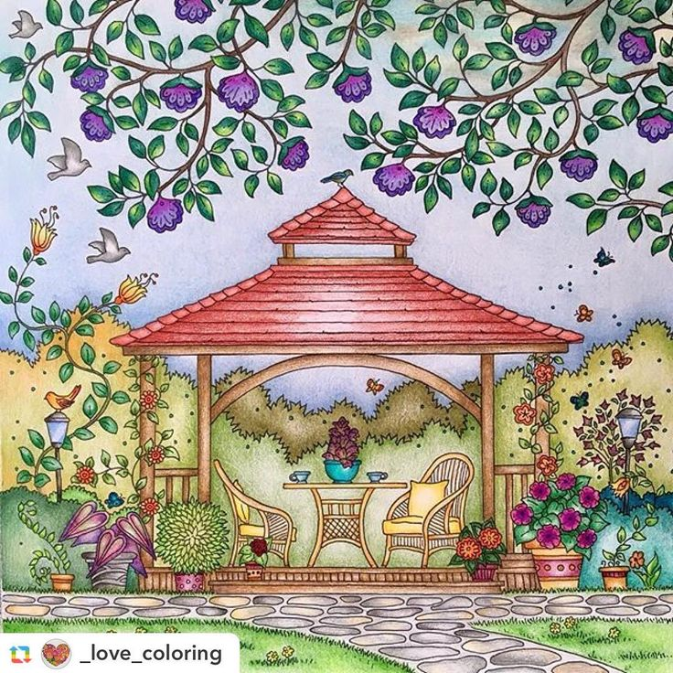 Belíssimo!!!! By @_love_coloring ❤️ #GPRepost,#reposter,#notetag @_love_coloring via @GPRepostApp ======> @_love_coloring:Enjoyed very much coloring this page with my #homegirls #homegirlscoloralong @colormecrazy_ @coloringwithjoy @coloringwithkindness @lariosangelica  #lovecoloring #arttherapy #arteterapia #coloringforadults #adultcoloring #comehometocolor #debbiemacomber #gazebo #coloring #coloringbooks #coloringbook #boracolorirtop