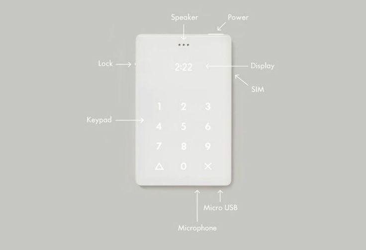Ini Ponsel dengan Desain dan Fitur Paling Minimalis