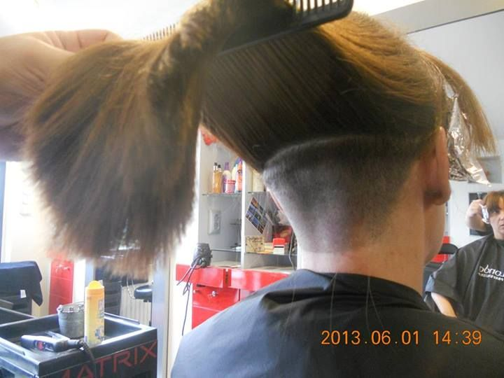 17 Best Images About Nape Haircut On Pinterest