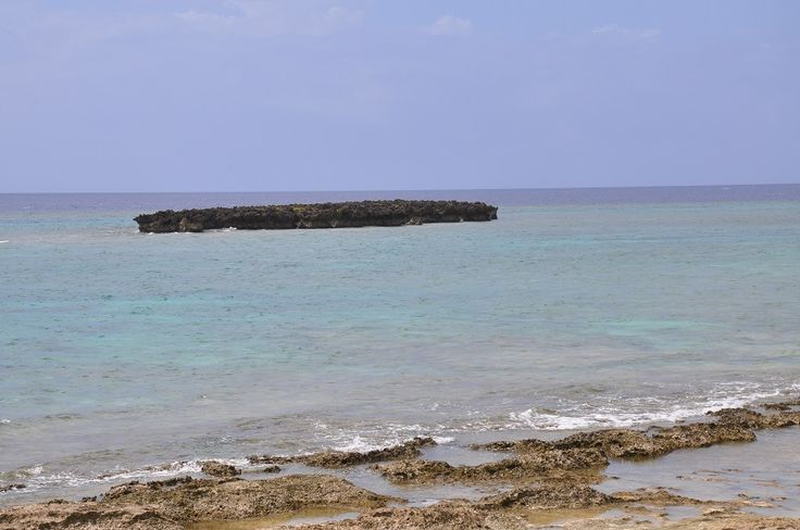 【沖縄おすすめ情報】カモメ岩のビーチ