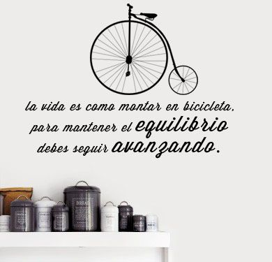 The 25 best frases para pared ideas on pinterest frases - Decoracion paredes interiores ...