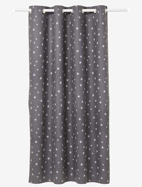 Curtain Mauve / stars+Navy / stars+Storm grey / stars