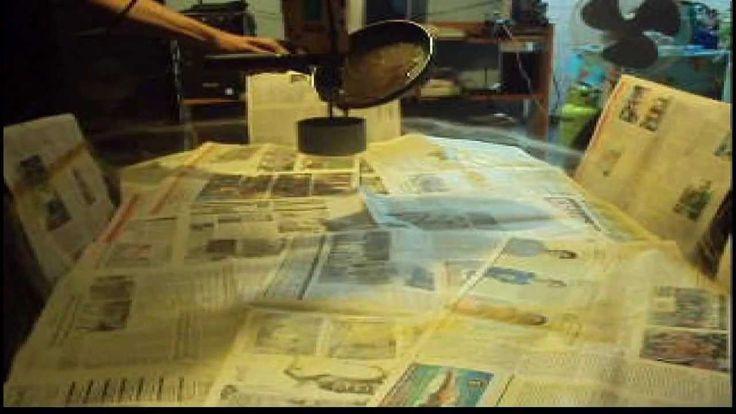 """""""Cómo hacer algodón de azúcar con un taladro""""... no es mala la idea, solo hay q pensarla un poquito mas para no hacer un desastre jaja"""