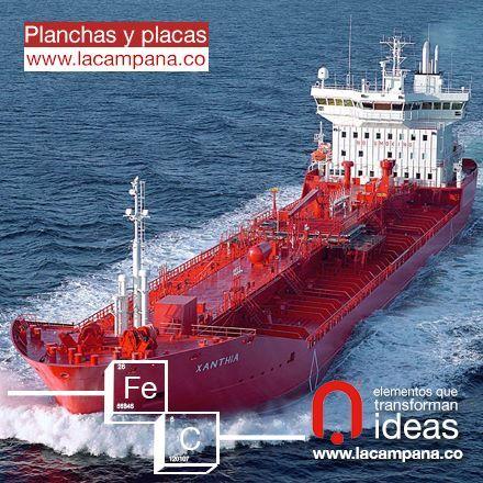 Planchas y placas calidad naval. www.lacampana.co