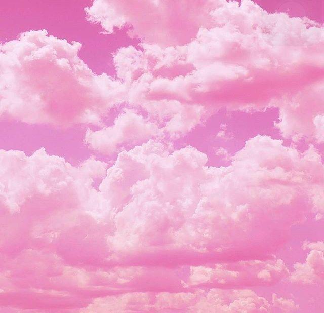 Картинка розовое облако