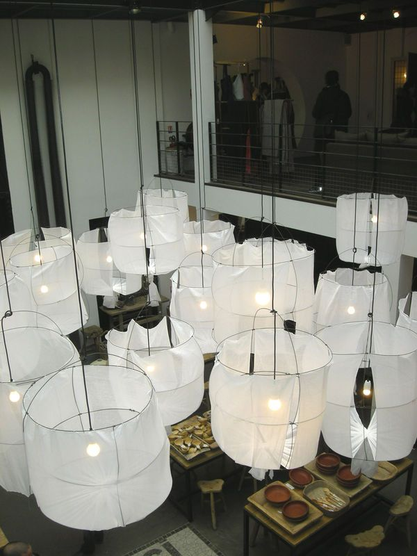 suspended lighting  laterns merci  Paris