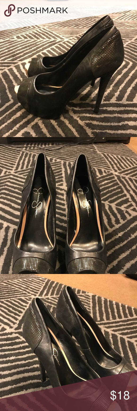 Jessica Simpson Black Pumps 8.5 Super hot, Jessica Simpson black high heel dress Pump. Size 8.5 Jessica Simpson Shoes Heels