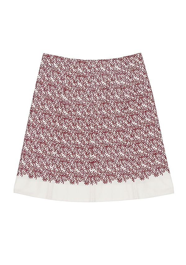 QL2 - KARA EMBROIDERY COTTON SKIRT  ( Do you remember the first time?) #women's #fashion