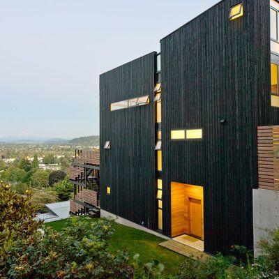 Image result for modern hillside homes