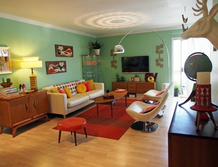 Wohnzimmer retro style  58 best 60's and 70's retro style images on Pinterest | Retro ...