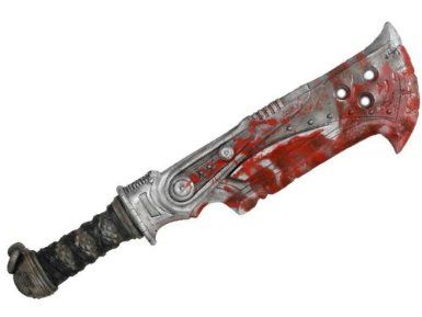 Amazon.com: NECA Gears of War Prop Replica Butcher Cleaver Weapon: Toys & Games