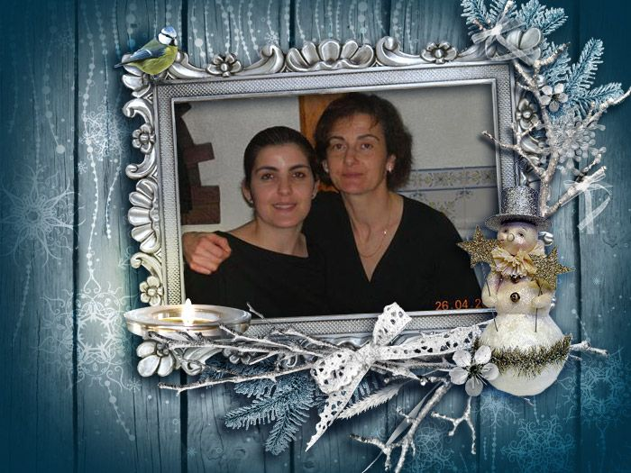 Your funny photo is ready! Funny photo card Christmas. Have fun with FunPhotoBox