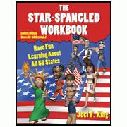 The Star Spangled State Book and Workbook is a full year curriculum that will teach your child about the history and geography of the USA.  It comes with challenging quizzes.