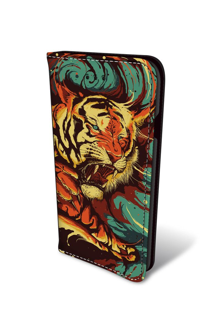 The Tiger's Eyes Are Like My Own iPhone Wallet Case