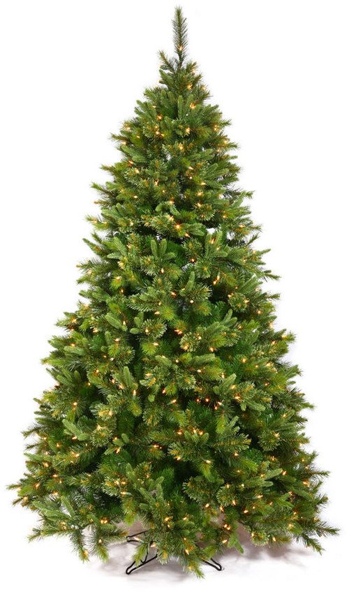 Vickerman 7.5-ft. Pre-Lit Cashmere Slim Artificial Christmas Tree