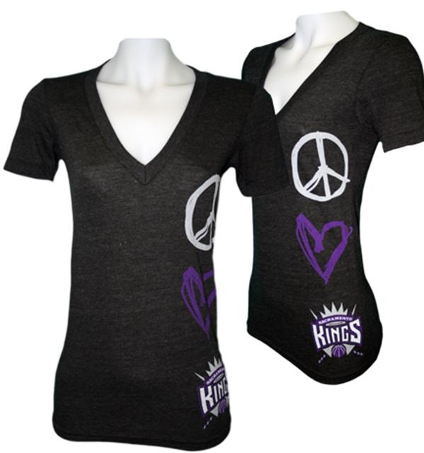 Kings Team Store - The official store of the Sacramento Kings >> Peace/Love Triblend T-ShirtSacramento King, King Baby, King Peace Lov, King Team, Shirts, Sac King, Official Stores, King Foreverpurpl, Peace Lov Triblend