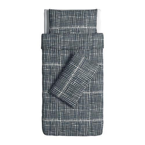 BJÖRNLOKA RUTA single quilt cover + 2 pillowcases $29.99 from IKEA