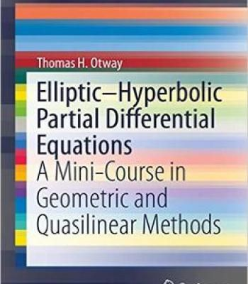 Elliptic-Hyperbolic Partial Differential Equations: A Mini-Course In Geometric And Quasilinear Methods PDF
