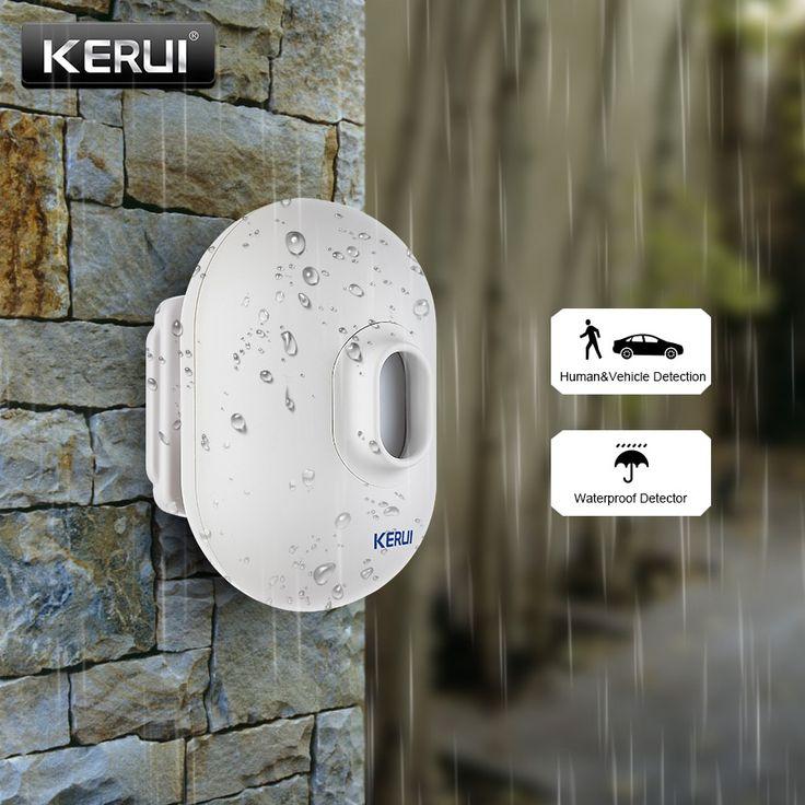 Security Alarm Wireless, Motion Detector Alarm Outdoor Wireless