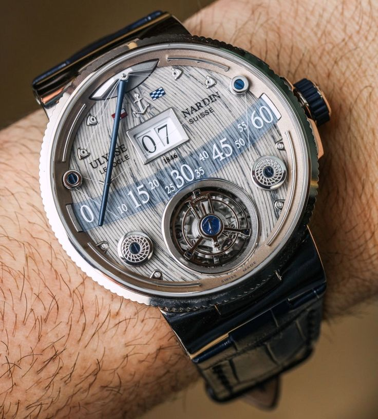"""#Baselworld2016: UlysseNardinOfficial Grand Deck Marine Tourbillon Watch Hands-On - by Ariel Adams - see the hands-on video, full photo gallery, & learn more on aBlogtoWatch.com """"If watch brands stopped coming out with products like this, I would probably stop going to Baselworld. I might not ever be in a position where I have a spare 280 grand lying around to buy a Ulysse Nardin Grand Deck Marine Tourbillon, but I am sure as hell happy at least a few people out there do...""""…"""