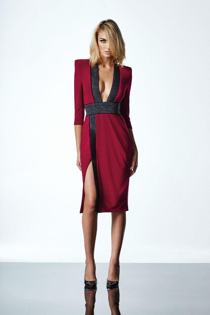 Zhivago - Warsaw Dress In Ruby