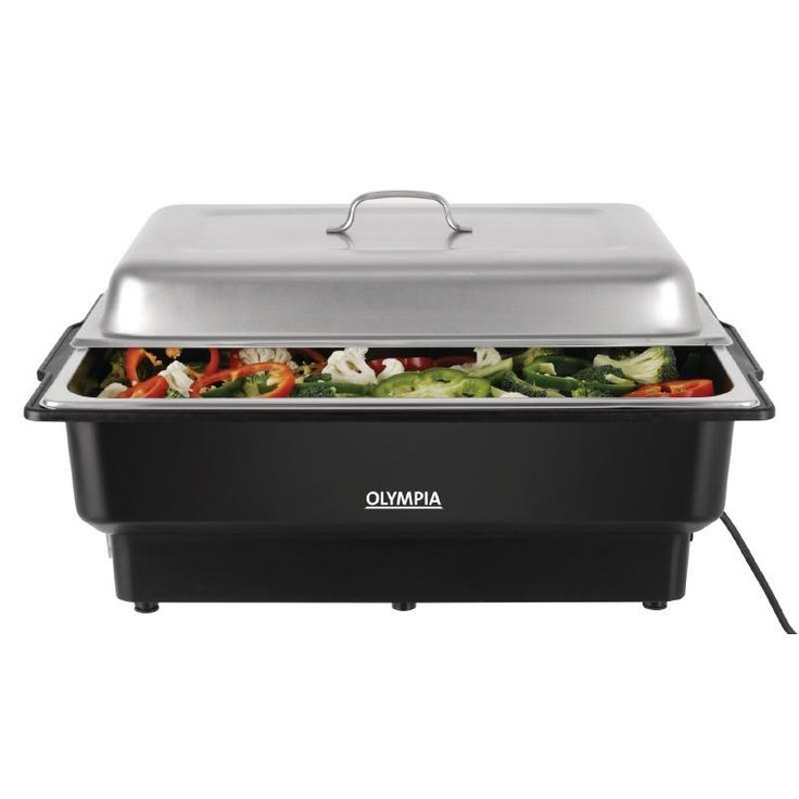 Chafing Dish eléctrico Gastronorm 1/1 Olympia 13,5L.