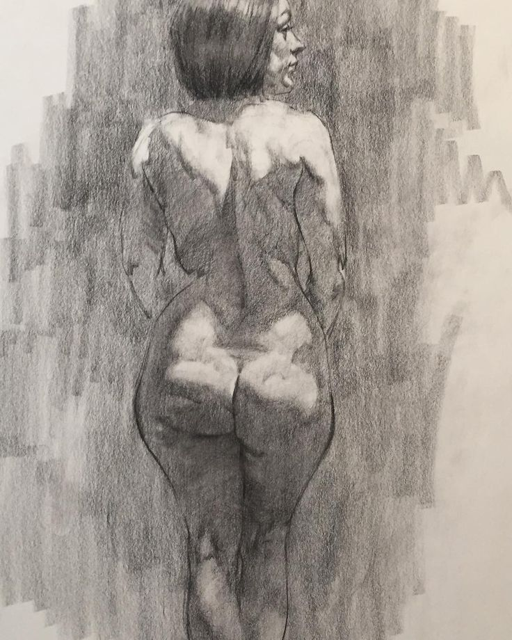 "68 Likes, 3 Comments - Patrick Meehan (@patrickmmeehan) on Instagram: ""Awesome figure model RubyRockafella today in studio. #charcoaldrawing #figurative #female…"""