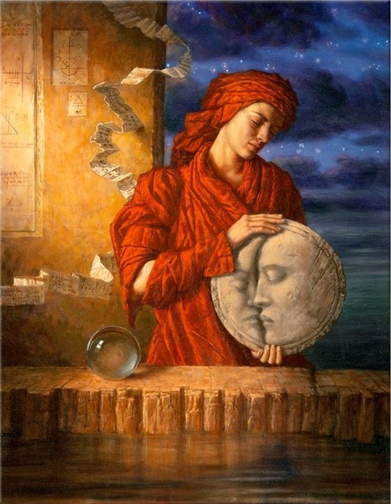 Jake Baddeley - Drawing Down the Moon (2000)...