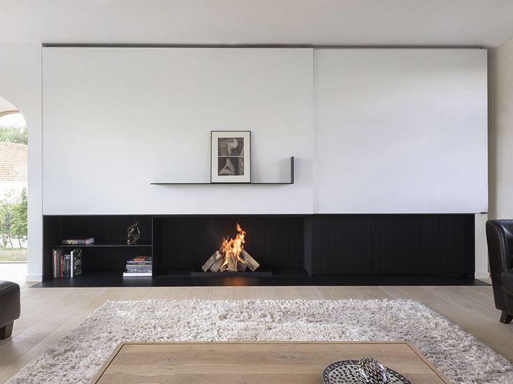 Création de votre cheminée sur mesure #metalfire #atryhome #design #contemporain #cheminée http://atryhome.com