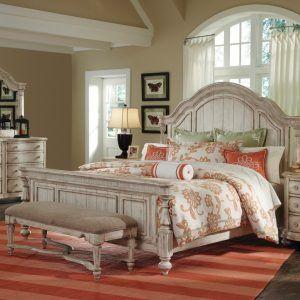 Antique White Bedroom Sets King