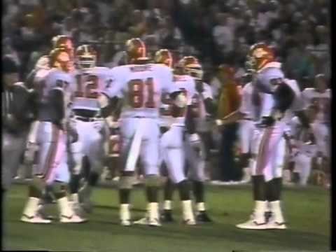 1989 Clemson vs FSU Football Game