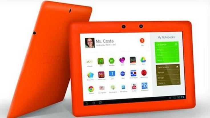 Murdoch group unveils Amplify tablet for US schools | BBC 2013 || News Corp's education arm unveils a tablet targeted at US schools, reopening the debate about the best way to use technology in the classroom.