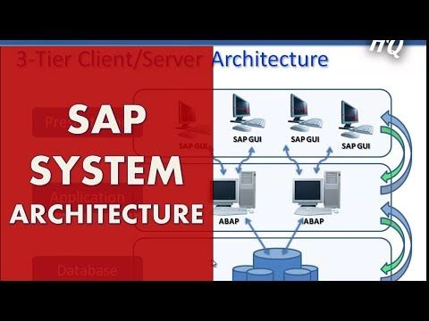 SAP Training: Beginners Guide - Learn SAP ABAP - SAP System Architecture  #Mastering Data #automation