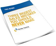 FREE eBook: The Three Biggest Sales Mistakes You Should Never Make. Your strategies for interacting with prospects from the time you first meet them to the time you make a presentation can have a greater impact on your likelihood of closing a sale than the actual aspects of the product or service you have to offer.