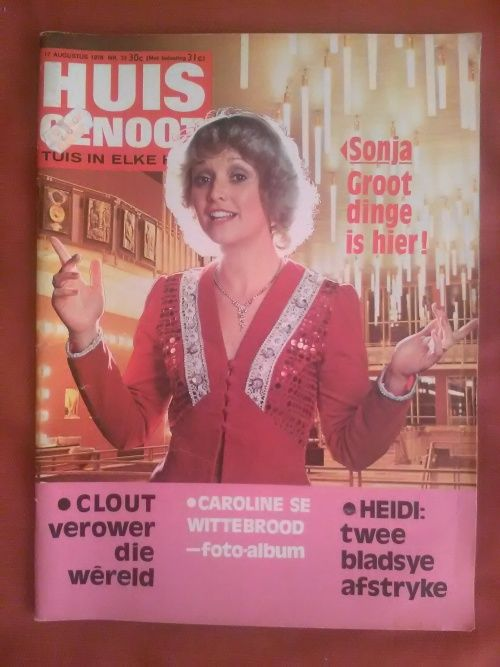Image result for Huisgenoot 1970's