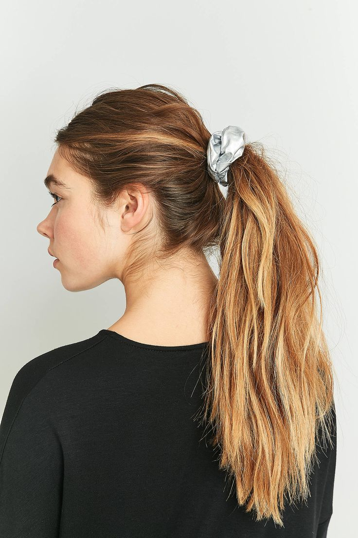 Shop Holographic Silver Scrunchie Hair Band at Urban Outfitters today. We carry all the latest styles, colours and brands for you to choose from right here.