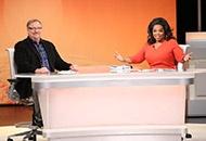 Pastor Rick Warren and Oprah Winfrey