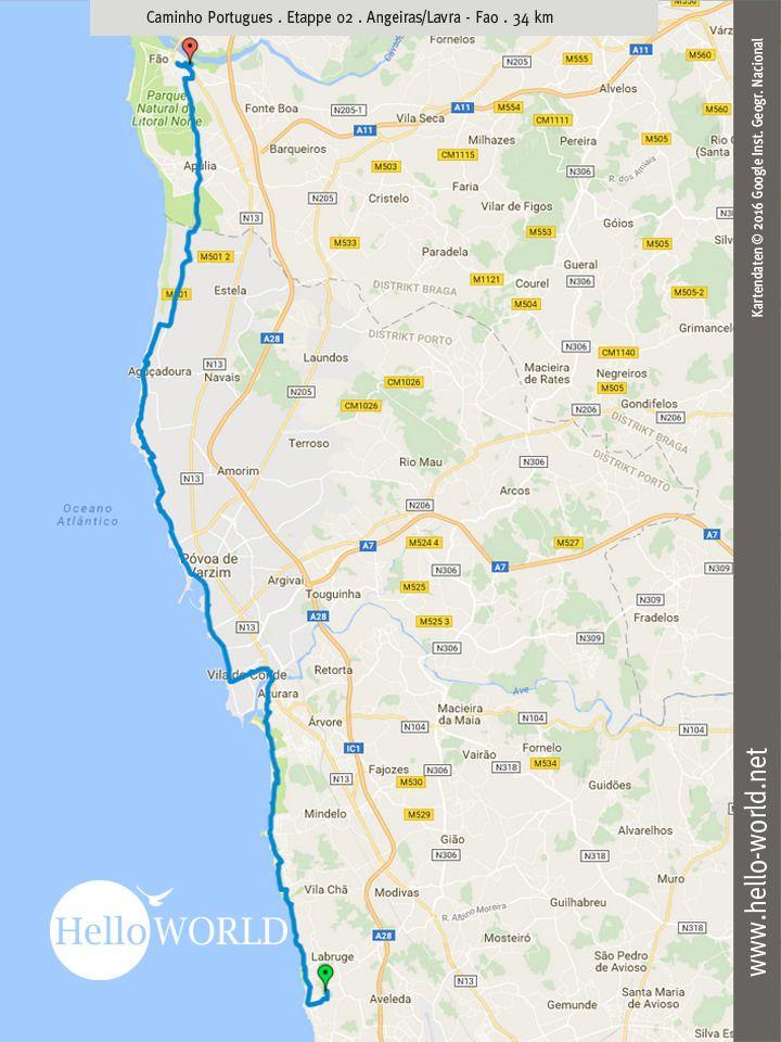 Camino Portugues Etappe 2 Jakobsweg Reisebericht Und Camino