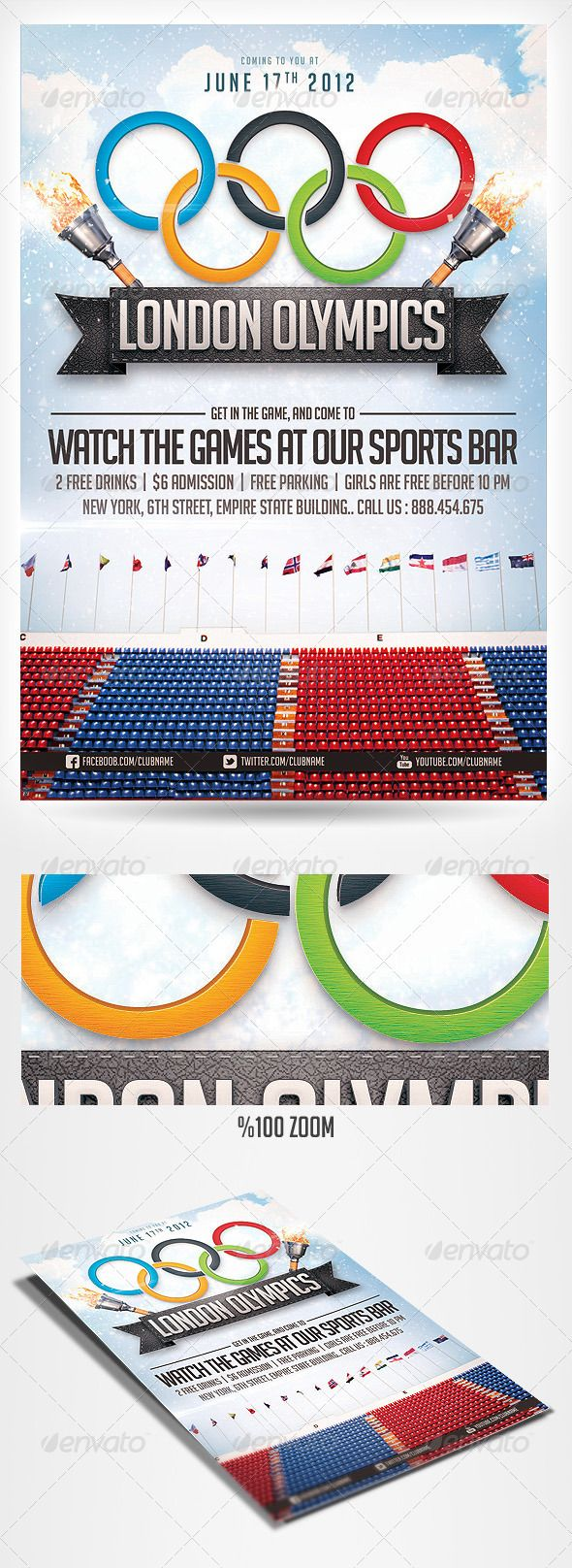 best images about c o m m e r c i a l psd flyer 2012 olympics sports flyer graphicriver psd