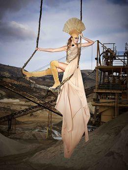 Orginale Schaukelshooting - Germany's next Topmodel 2016