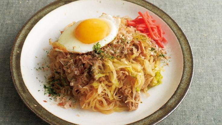 しらたきソース焼きそばレシピ 講師はきじま りゅうたさん 使える料理レシピ集 みんなのきょうの料理 NHKエデュケーショナル